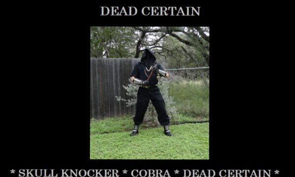 Count Drawko - Dead Certain - Back Cover - 1820 X 1465