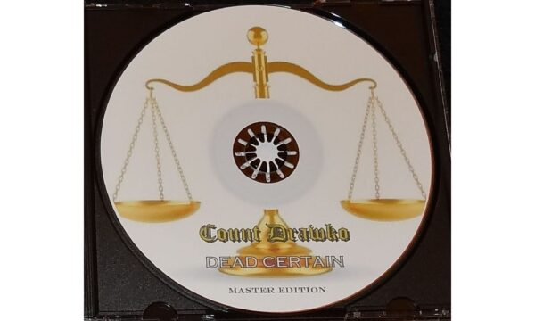 Count Drawko - Dead Certain - Picture Disc